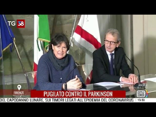 Un Gancio Al Parkinson al TG di RTV38