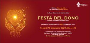 Domani, venerdì 18 dicembre il sindaco e la Festa del Dono - Un Gancio Al Parkinson