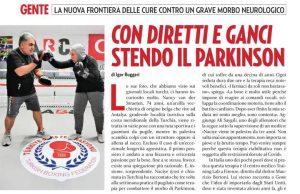 """Il settimanale """"Gente"""" parla di noi! - Un Gancio Al Parkinson - Firenze"""